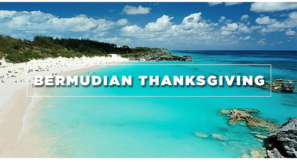 Bermudian Thanksgiving